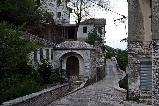 "Byron""s Footsteps - the old town, Gjirokastra - © Flickr user djstanek"