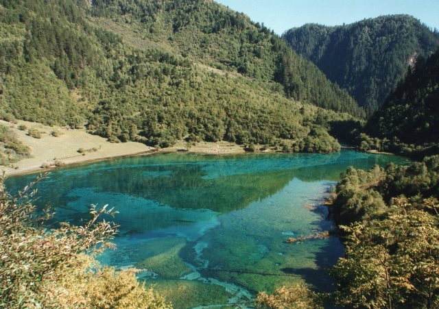 Jiuzhaigou mineral lake - © @William Mackesy
