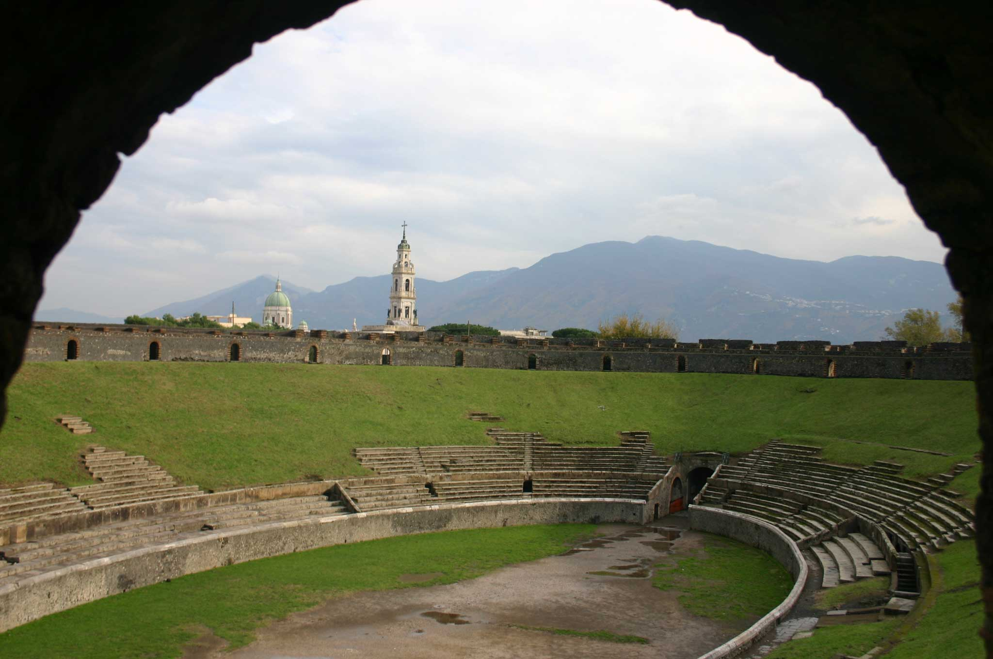 Pompeii - Amphitheatre - © William Mackesy