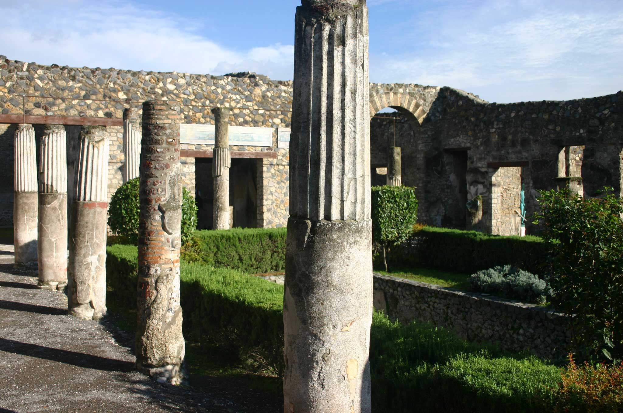 Pompeii - Villa - © William Mackesy...