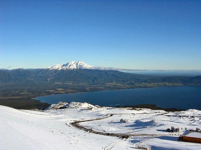 Chile Patagonia: Vicente Perez Rosales NP, Volcan Osorno, , Walkopedia