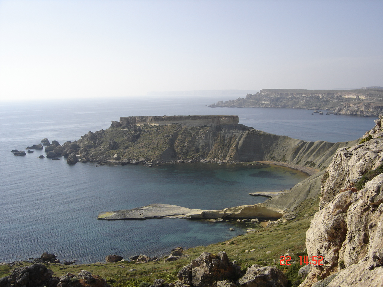 Malta Coastal walk