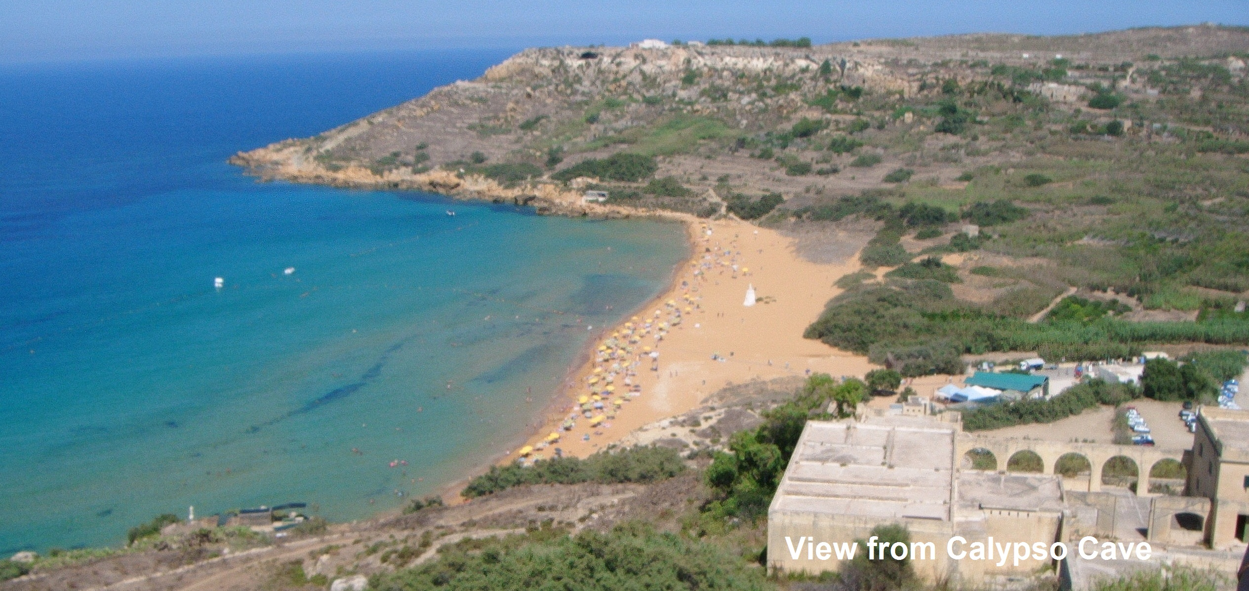 Malta, Gozo Coastal Walk, Ramla Bay, Walkopedia