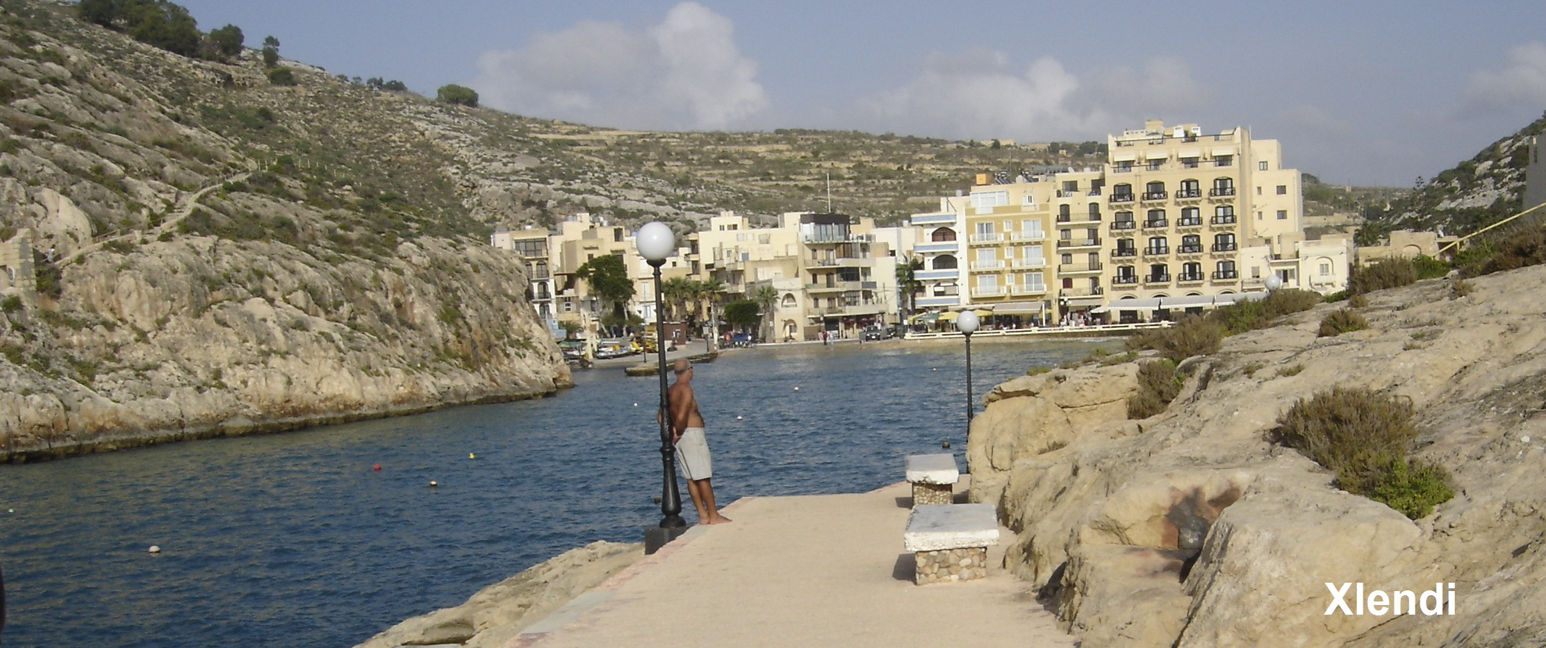 Path near Xlendi