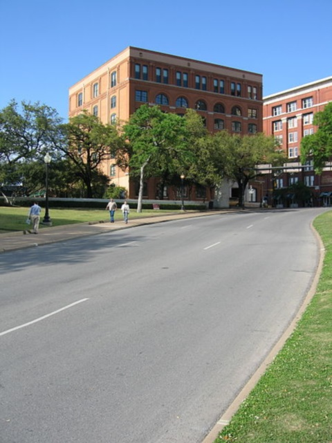 USA Texas, Kennedy Assassination Site, Dallas, Texas school book depository , Walkopedia