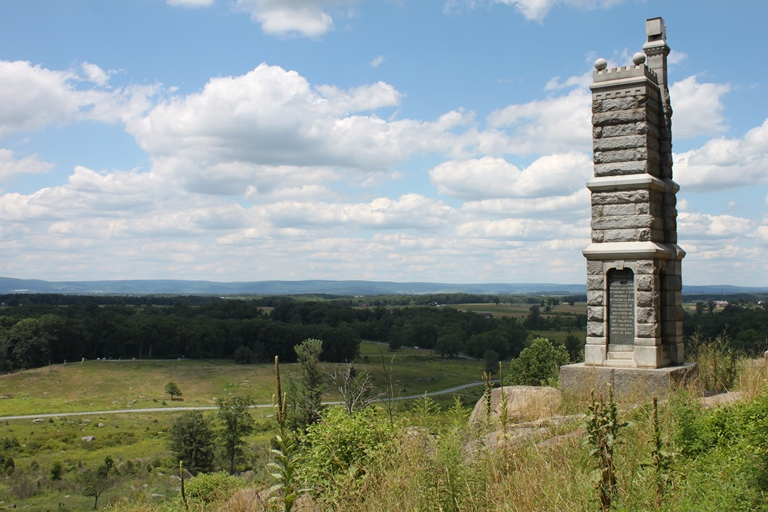 Gettysburg: 91st Pennsylvania Monument, Gettysburg - © Flickr user Joseph