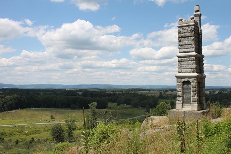 USA Eastern, Gettysburg, 91st Pennsylvania Monument, Gettysburg, Walkopedia
