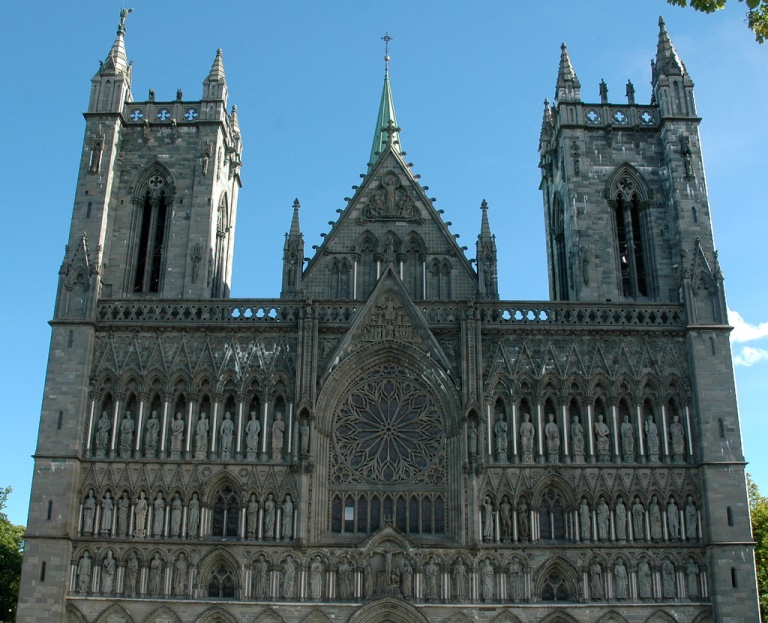 Nidaros Cathedral - © Flickr user Jaqueline Floch