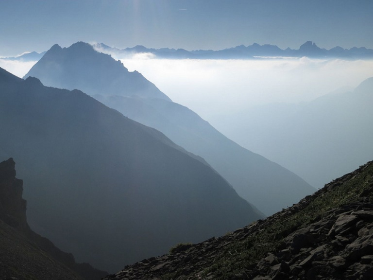 "Pic du Midi d""Ossau view to the West - © Flickr user JM Fumeau"
