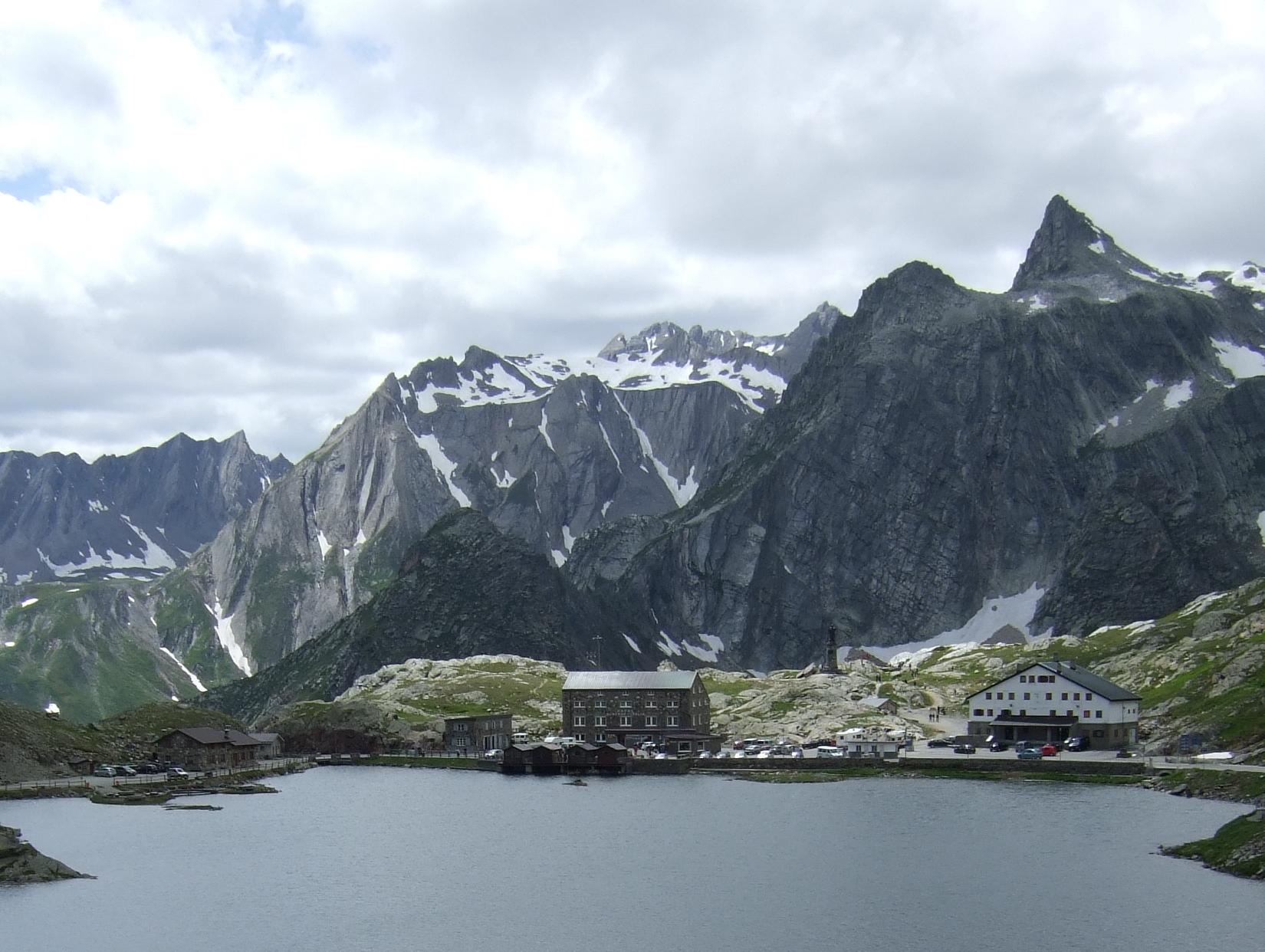 Great St Bernard Pass: Great St Bernard Pass - © Flickr user Phillipe