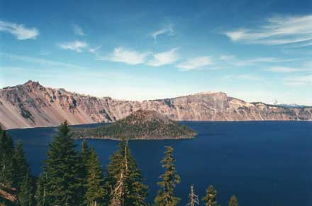 Crater Lake -  - © William Mackesy