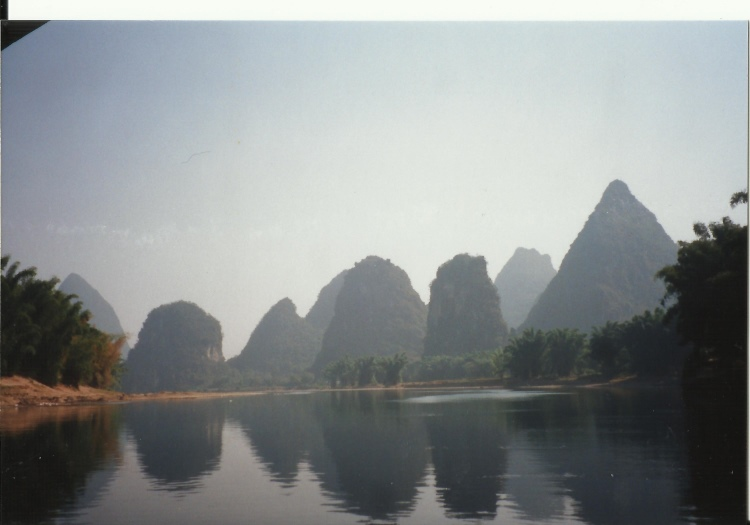Around Yangshuo, Guilin - 1995-ish - © Copyright William Mackesy