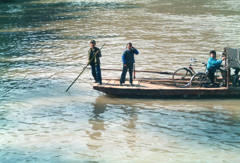 Around Yangshuo, Guilin - 1989 - © Copyright William Mackesy