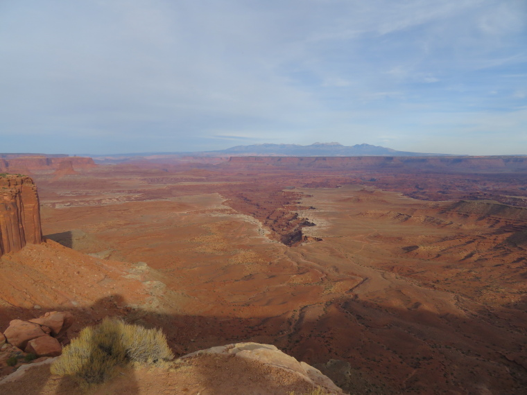 Canyonlands National Park: East from Buck Canyon Overlook - © William Mackesy