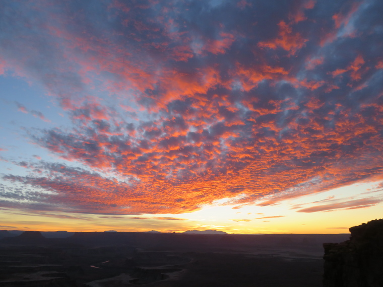 Sunset from Green River Overlook - © William Mackesy