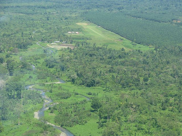 Kokoda airstrip from the air - © Flickr user Arthur Chapman