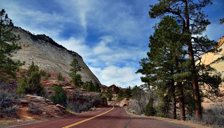 The Road Ahead (Zion National Park) - Mount Carmel Highway  - © Mark Stevens