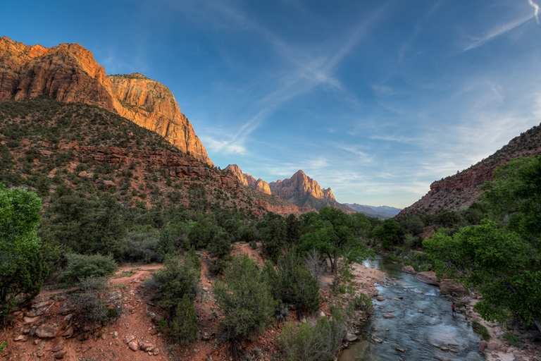Zion National Park - Canyon Sunset - © Jeff Krause