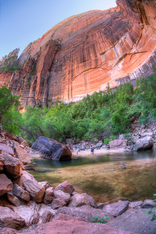 Zion National Park - Emerald Pool - © Jeff Krause