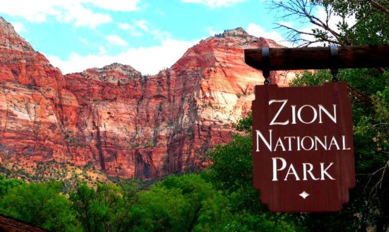 Zion National Park Utah - © Les haines