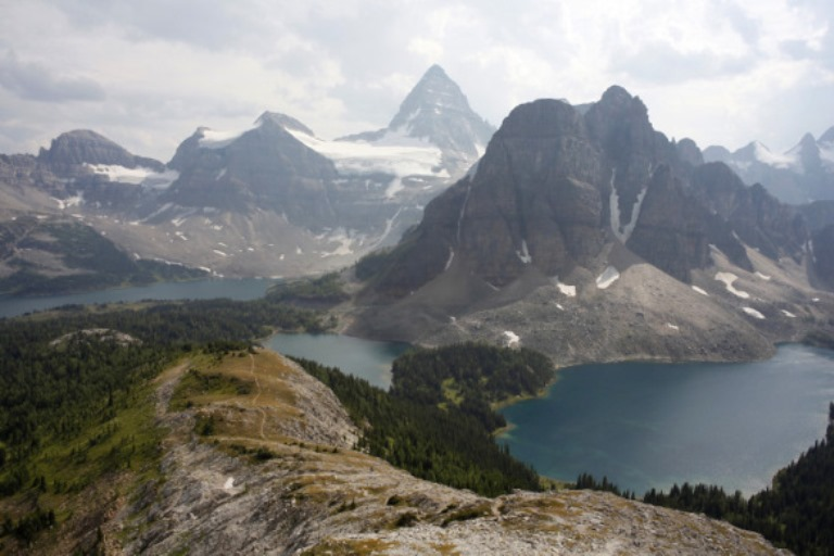 Sunshine to Assiniboine: © best hike google image user