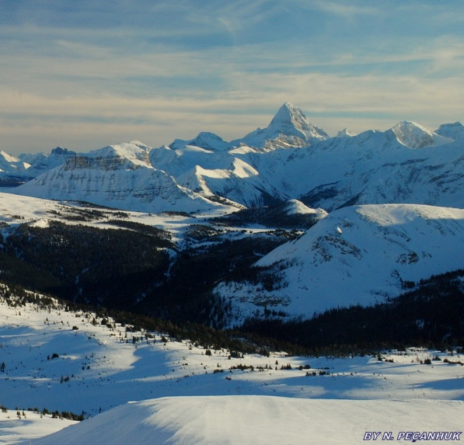 Sunshine to Assiniboine: © trek earth google image user