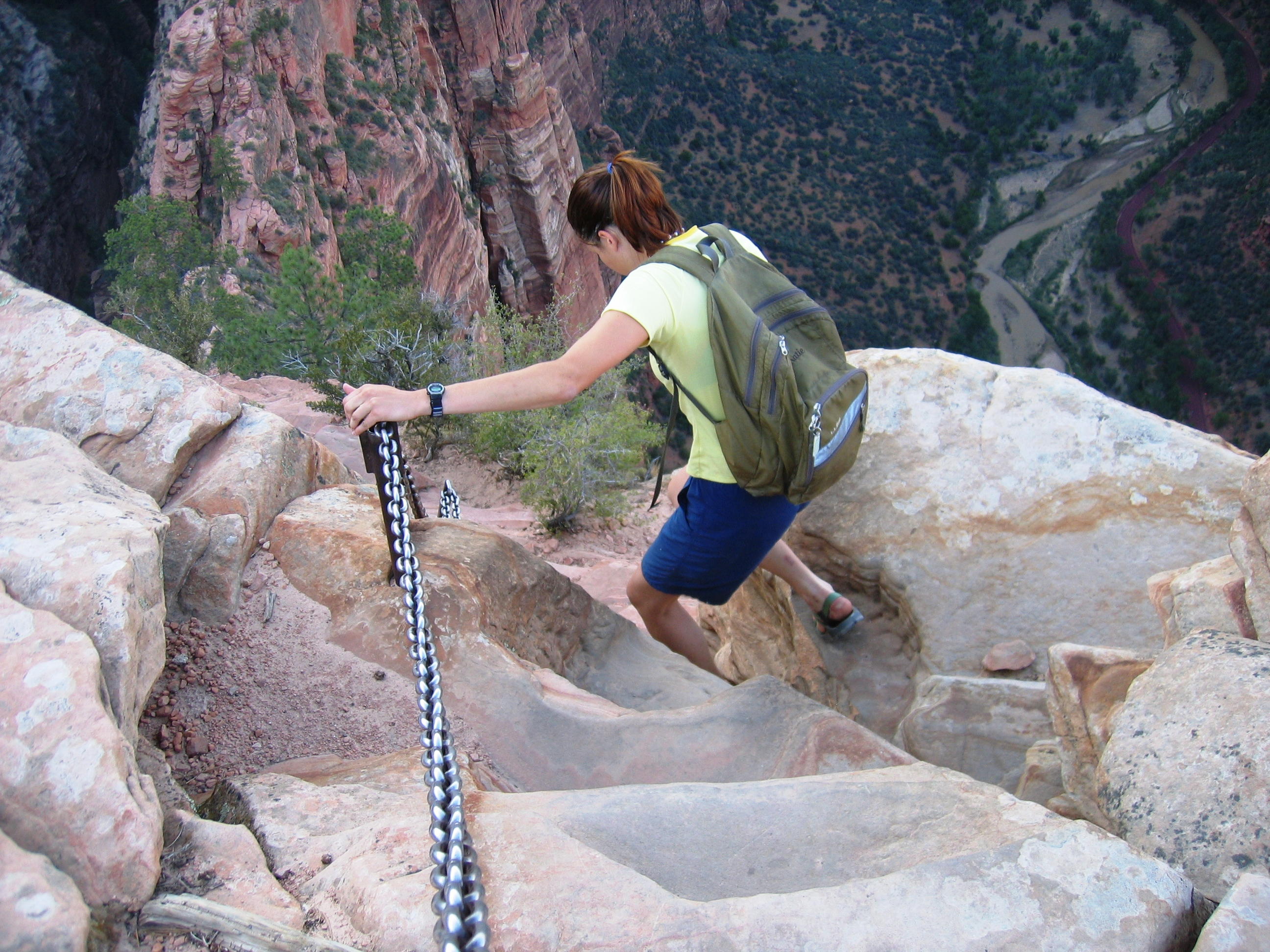 USA SW: Zion, Angel's Landing, , Walkopedia