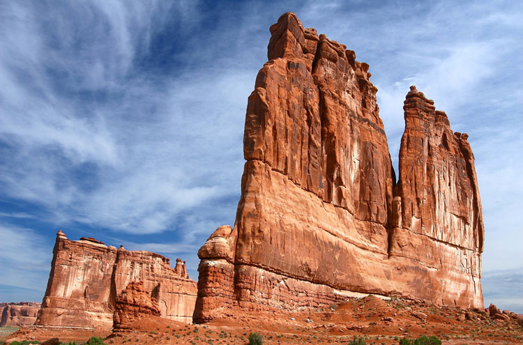 Arches National Park: The Organ, Arches National Park - © By Flickr user Trodel