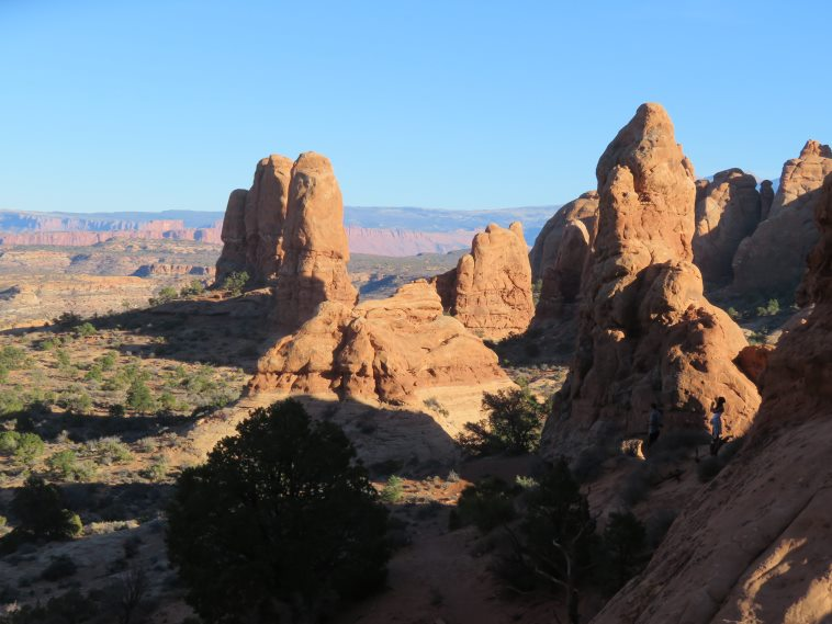 Arches National Park: Windows Arches area - © William Mackesy