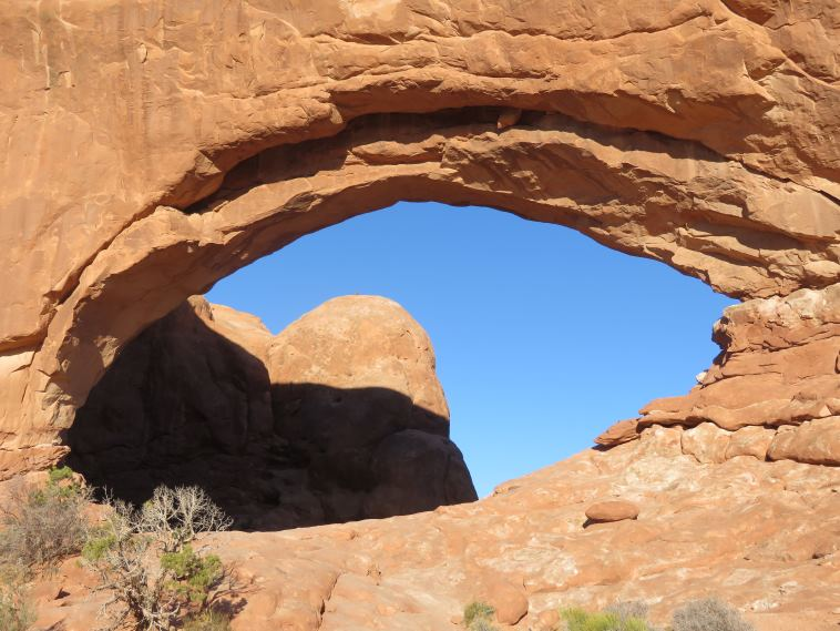 Arches National Park: North Window - © William Mackesy