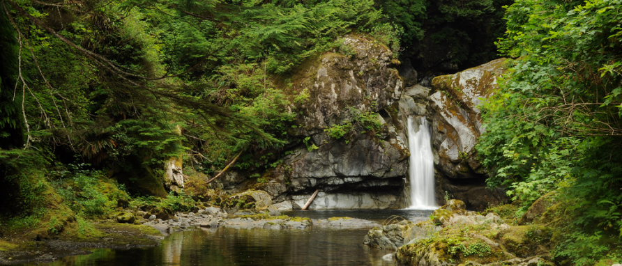 Darling River Waterfall. West Coast Trail  - © Flickr Paxon Woelber_files