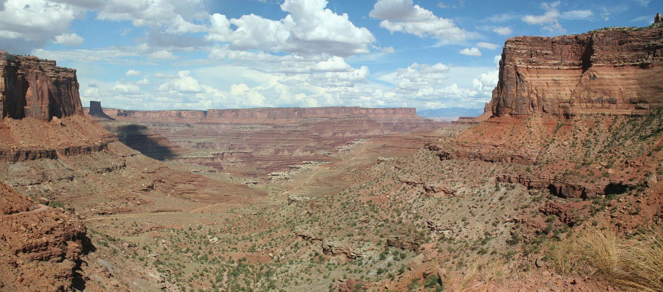 Canyonlands - panorama White Rim Road  - © wiki Anusia 1984