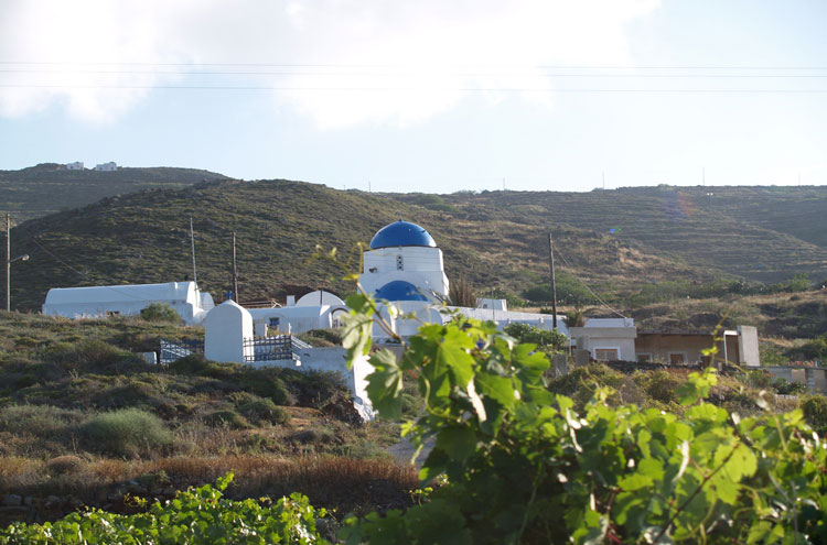 Caldera Rim, Santorini: Santorini Church - © By Flickr user JenniKateWallace