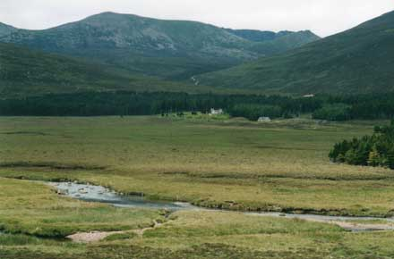 Lochnagar across Glen Muick - © William Mackesy