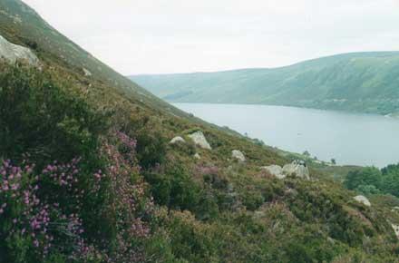 Lochnagar and Loch Muick: Lochnagar -  - © William Mackesy