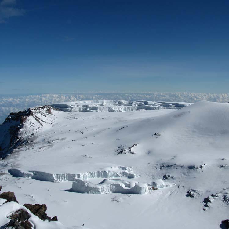 Climbing Kilimanjaro Summit: © Copyright Emily Townsend