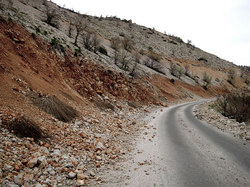 Lebanon Mountain Trail - Road after a forest fire - © By Flickr User Alixana_Euphoria