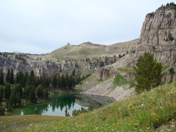 Teton Crest Trail - Marion Lake - © Copyright Flickr User rbbaird