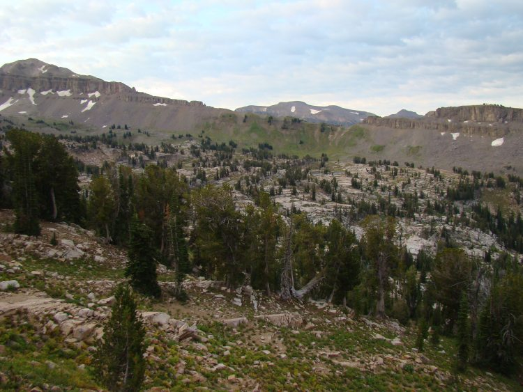 Teton Crest Trail - Alaska Basin - © Copyright Flickr User rbbaird