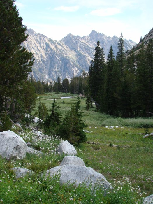 Teton Crest Trail - Cascade Canyon - © Copyright Flickr User rbbaird