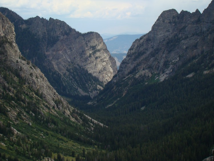 Teton Crest Trail - Death Canyon - © Copyright Flickr User rbbaird