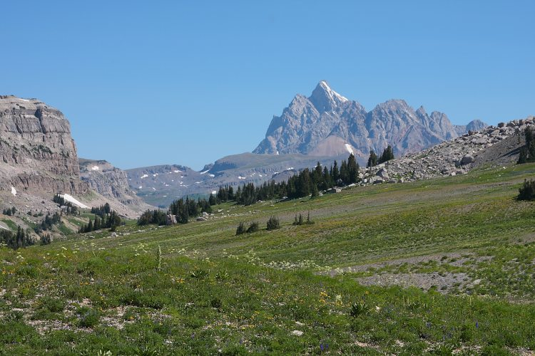 Teton Crest Trail - Jedidiah Wilderness - © Copyright Flickr User glennmolsen
