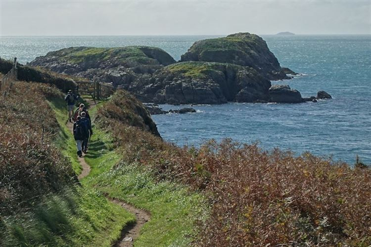 Walking the Pembrokeshire Coastal Path - © Christopher J. Etchells