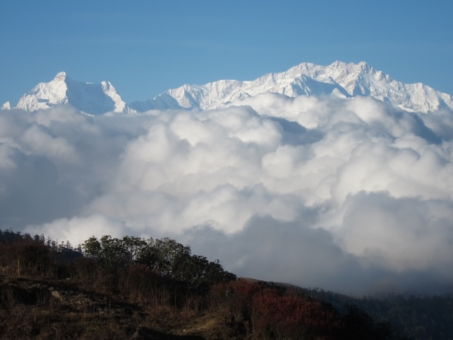 India Sikkim and nearby, Singalila Ridge, Sandakphu, evening, Walkopedia