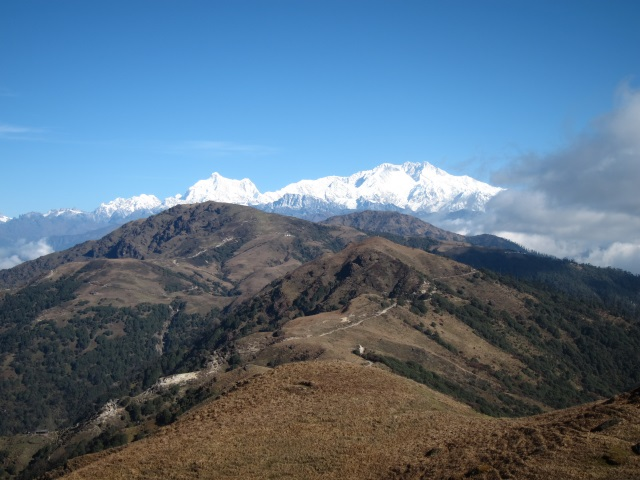 India Sikkim and nearby, Singalila Ridge, Along the ridge to Kanchenjunga, Walkopedia