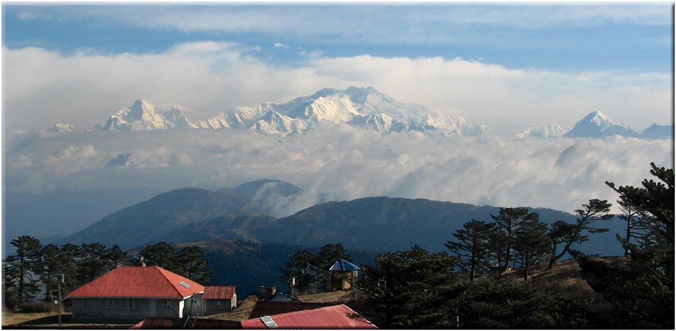 India Sikkim and nearby, Singalila Ridge, Kangchenjunga From Sandakphu, Walkopedia