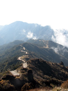 India Sikkim and nearby, Singalila Ridge, Singalila Ridge, southward, Walkopedia