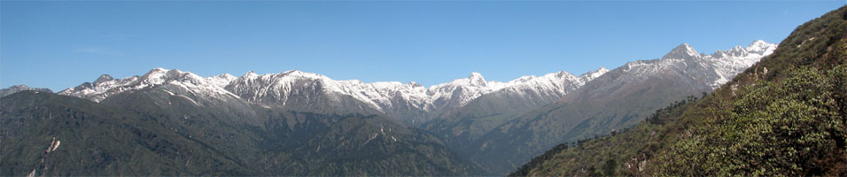 India Sikkim and nearby, Singalila Ridge, Northern end of the Singalila Ridge, Walkopedia