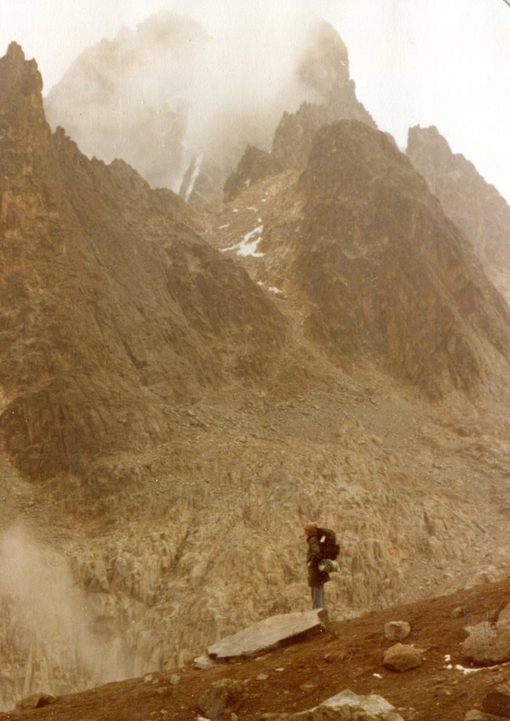 On the descent  Mt Kenya - © Dick Everard