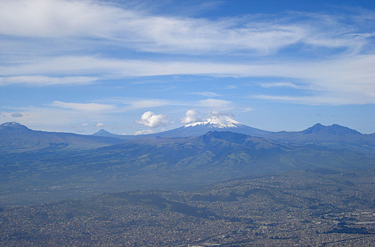 Cotopaxi - © By Flickr user LeRoc